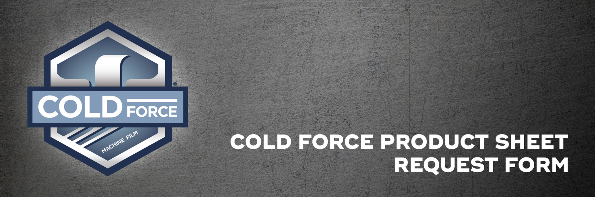Cold-Force-Product-Sheet-Request-Form