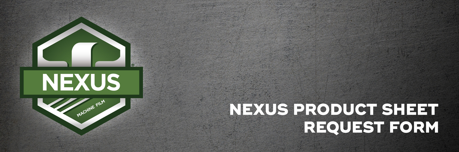 Nexus-Product-Sheet-Request-Form